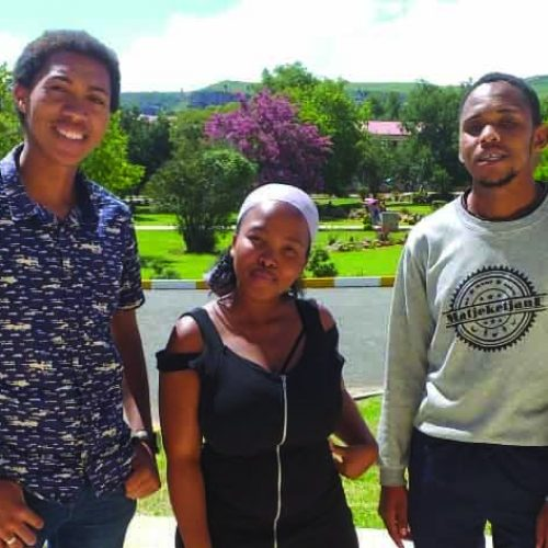 Law students put NUL on world map