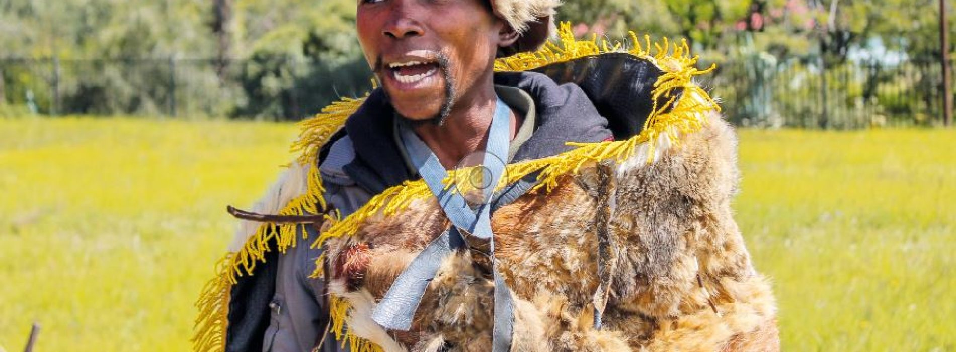 Eking a living out of animal hides