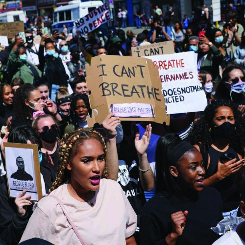 'We can't breathe'