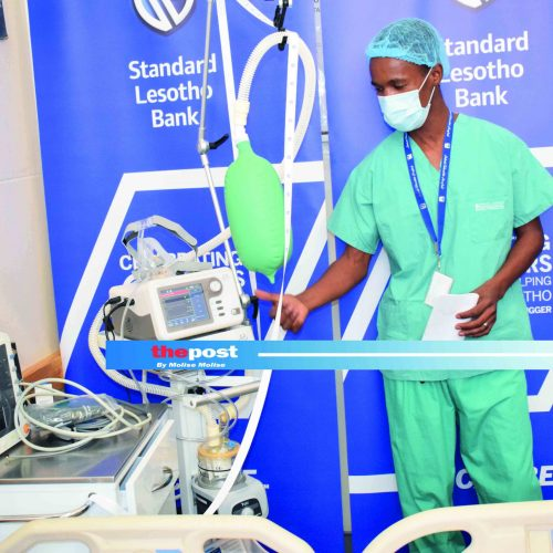 Bank hands over M1.2m for Covid-19 ward