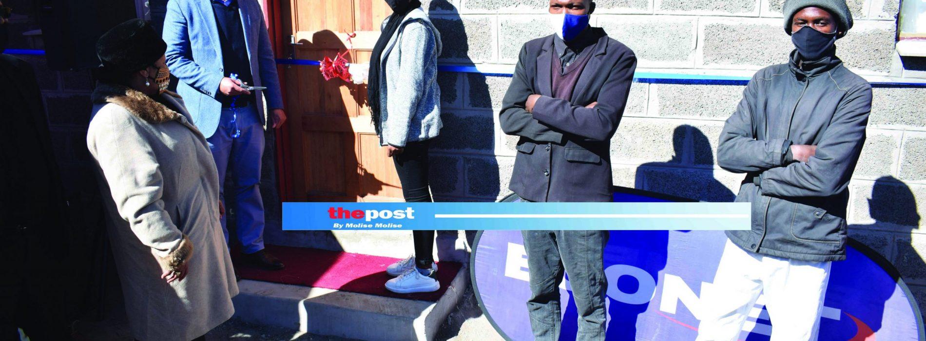 New house for  Moshoeshoe II orphans