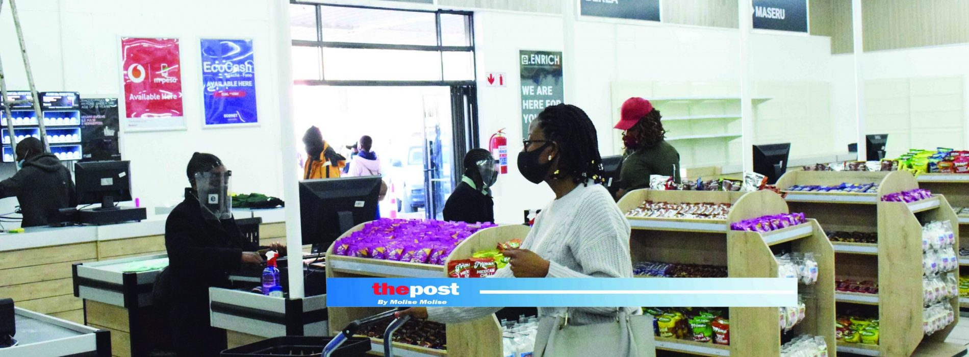 A new chain store owned by Basotho