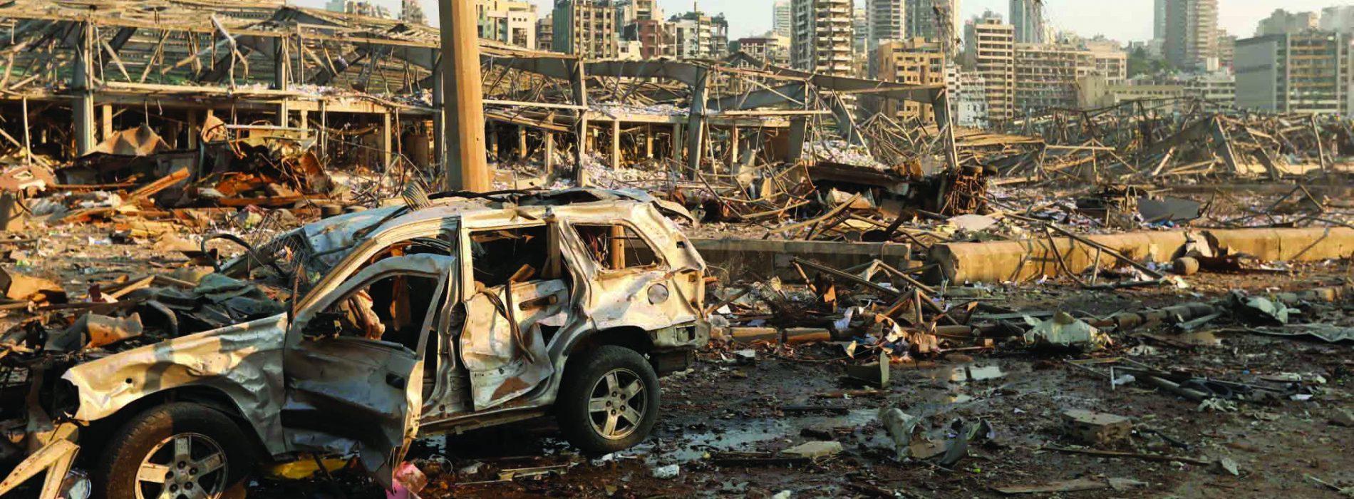 Beirut blast brings Lebanon to a boil