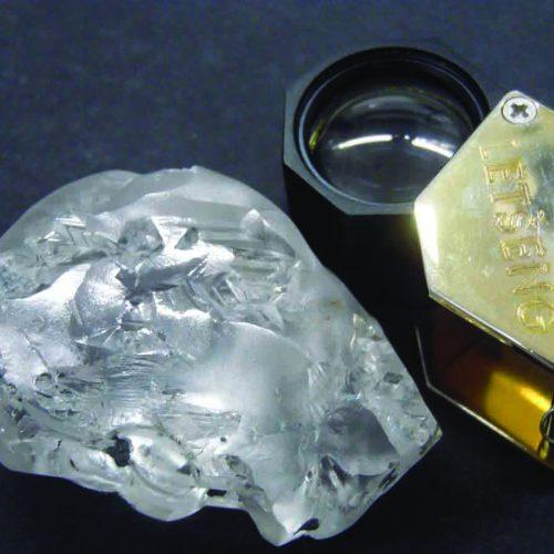 Gem Diamond  recovers 442  carat diamond