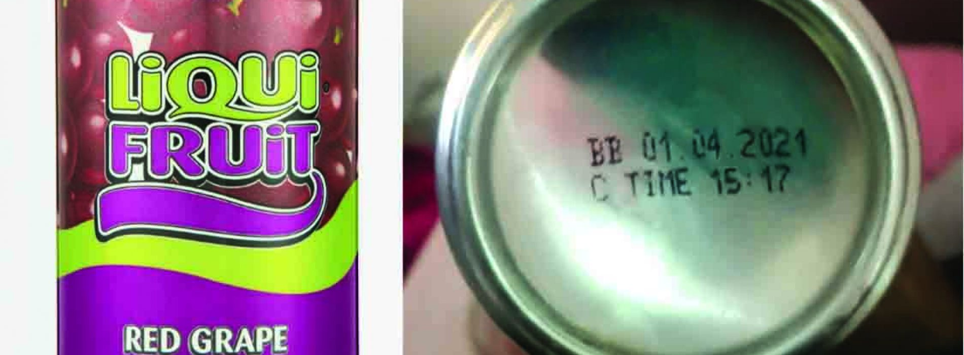 Liqui Fruit red grape juice withdrawn