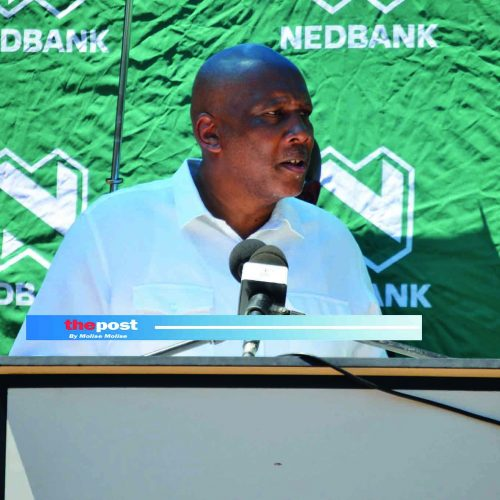 Nedbank hands over M60k worth of PPEs to Scott Hospital