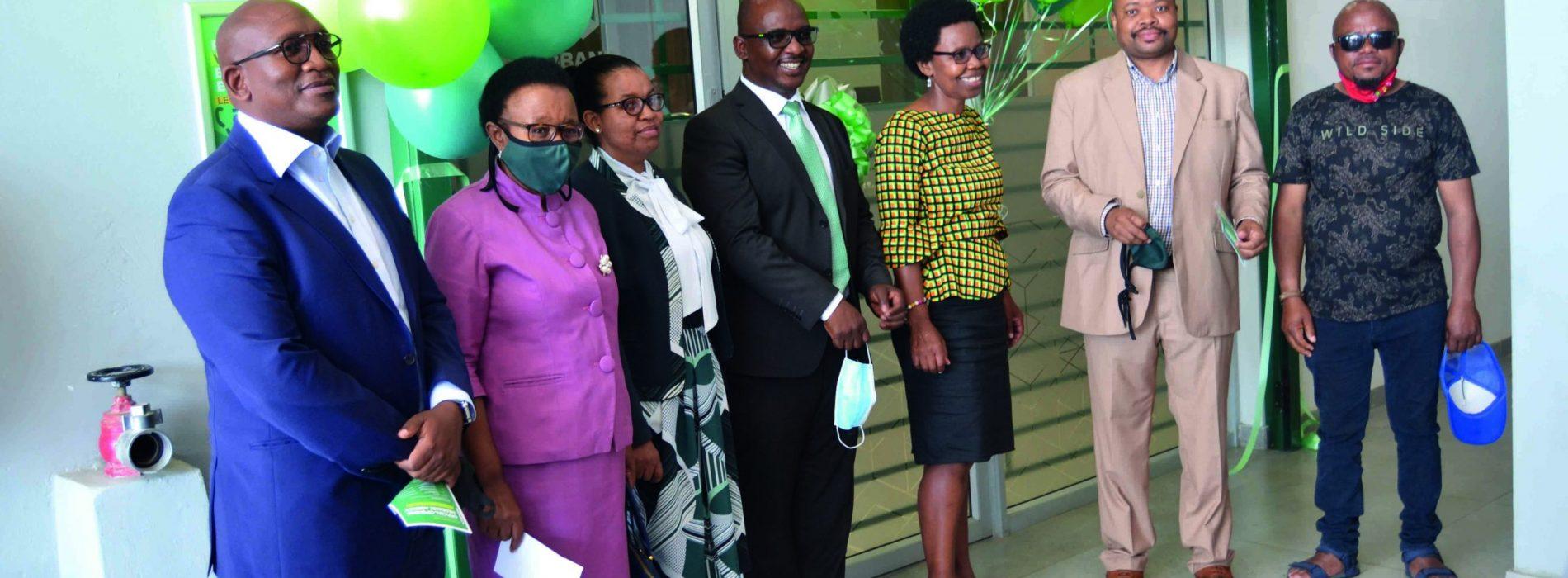 Nedbank opens agency in Masianokeng