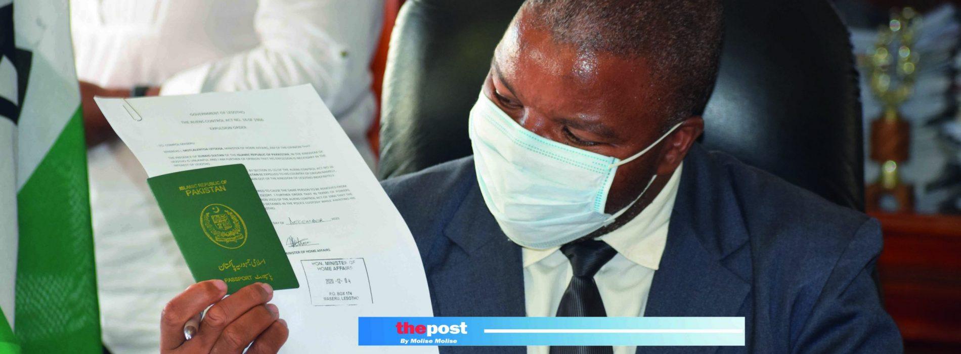 Passport headache  for Basotho