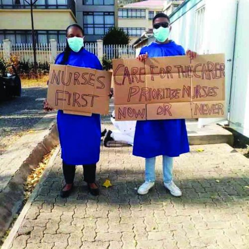 Nurses plead for help