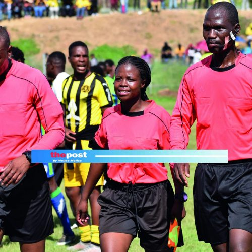 Referees to  step up preps