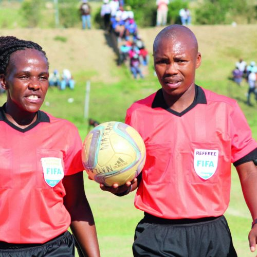 Top assignment for Lesotho referee
