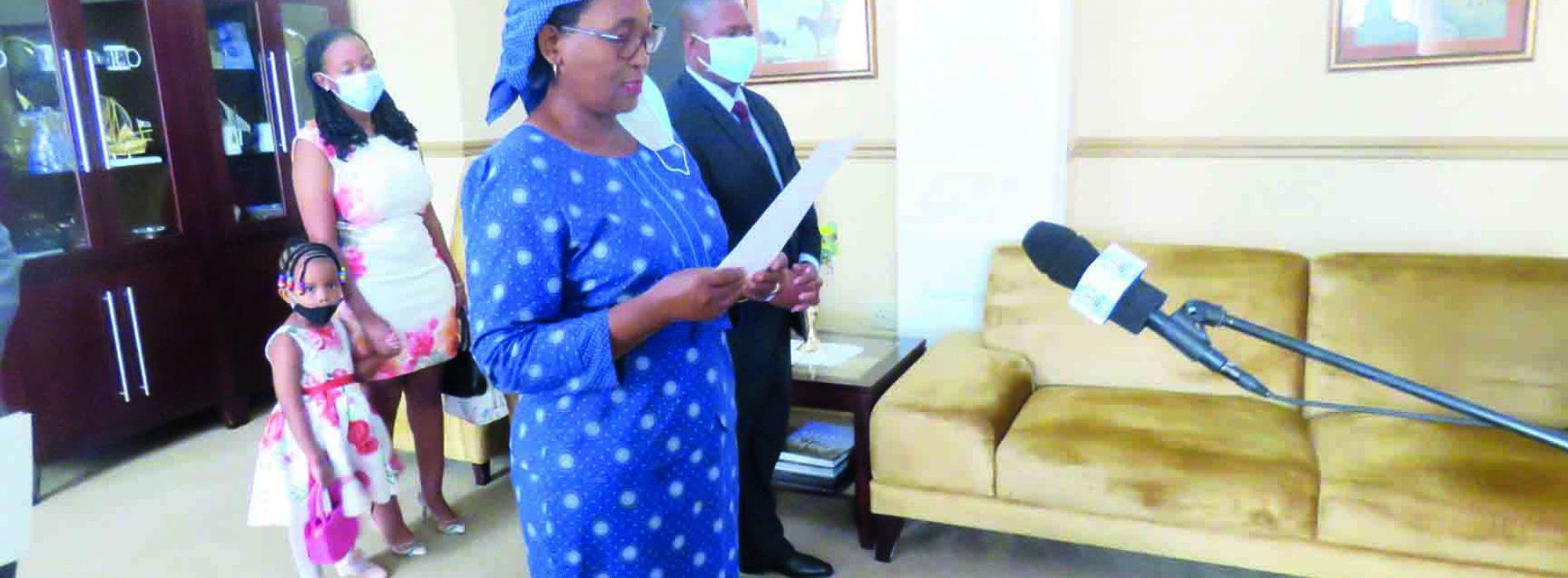 New ambassadors  for Lesotho