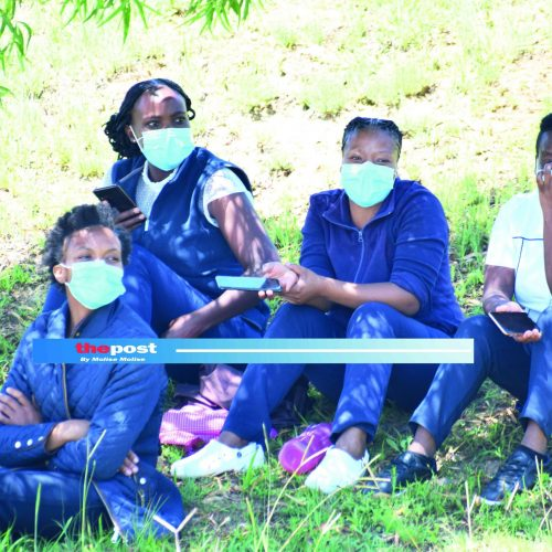 Queen 'Mamohato nurses down tools