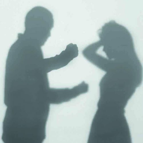 Tough law for  domestic violence
