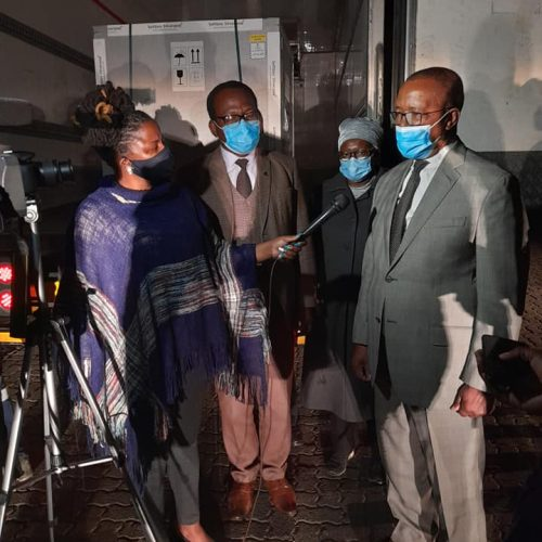 Lesotho receives new  batch of vaccines