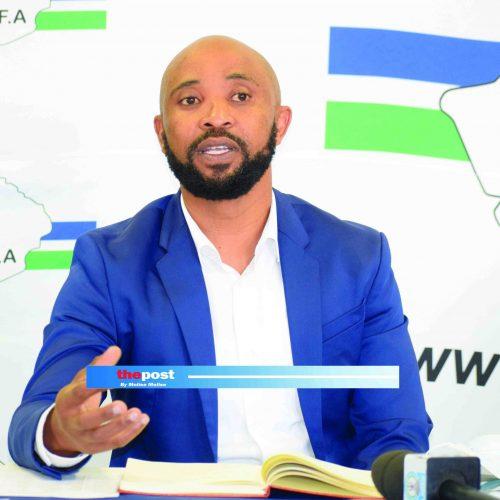 Senong names COSAFA squad