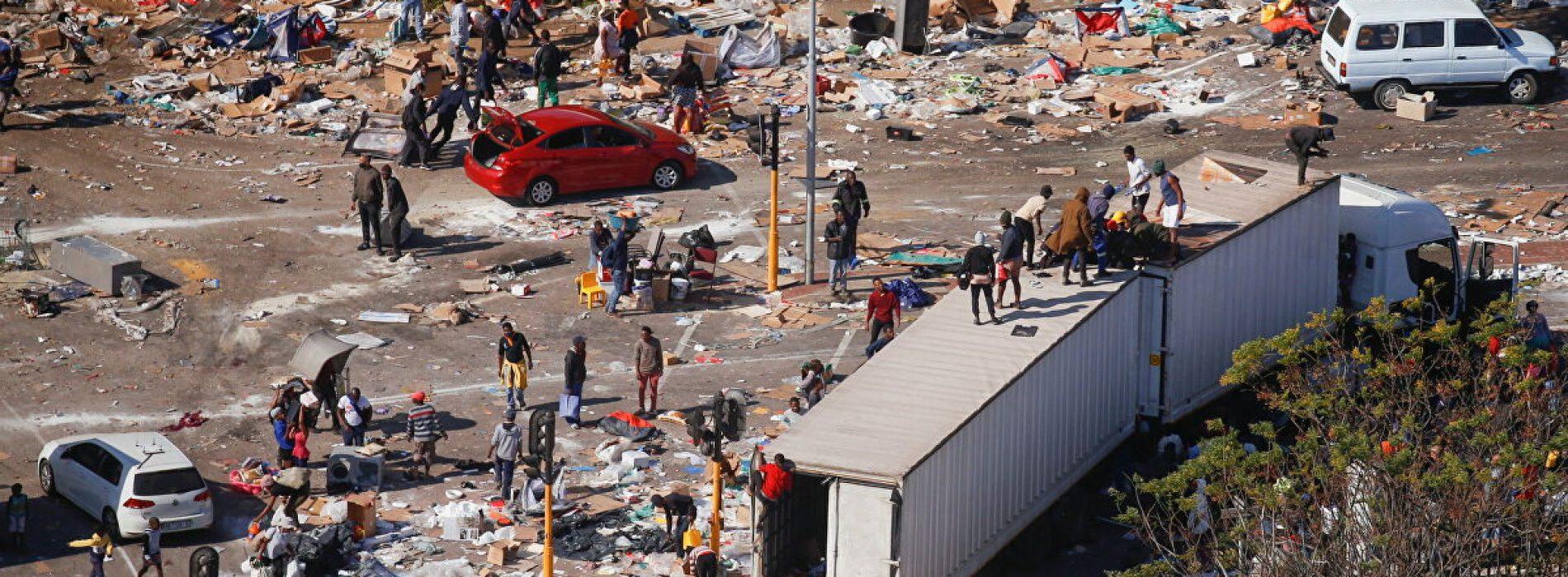 SA riots spark shortages in Lesotho