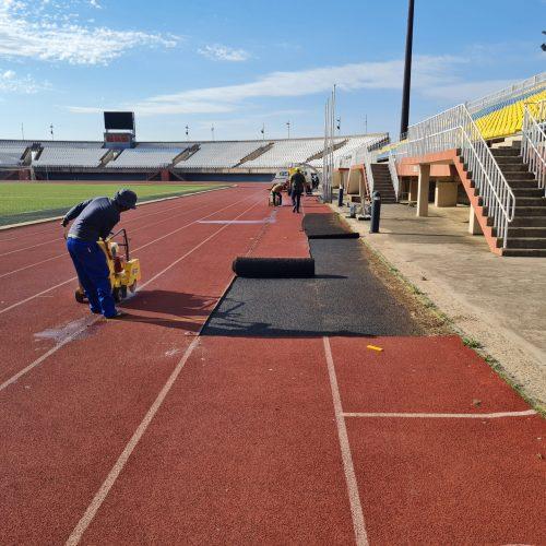 Rat race to finish Setsoto  Stadium renovations